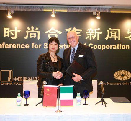 Italia e Cina si alleano per la moda