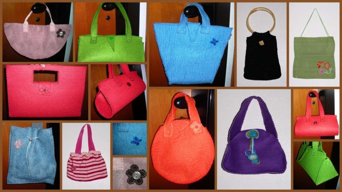 Idea creativa: ecco come creare borse di feltro [FOTO]