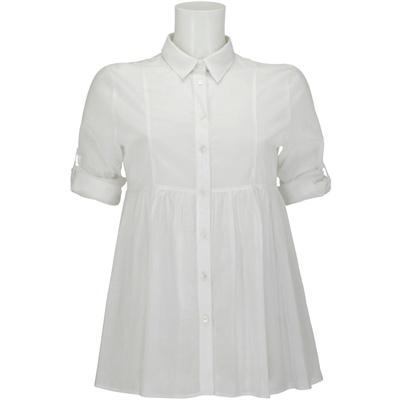 camicia bianca burberry britcorte