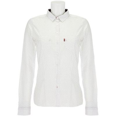camicia bianca levis lunghe