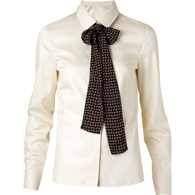 camicia bianca mango lunghe