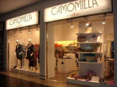 Camomilla Italia: nuovi store e outlet in cantiere