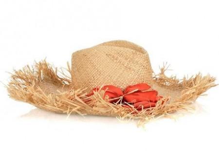 cappello lanvin fiori