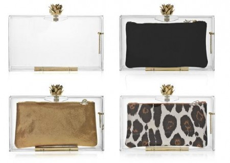 Charlotte Olympia: le clutch in plexiglass