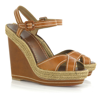 christian louboutin almeria 120 espadrille wedges light brown