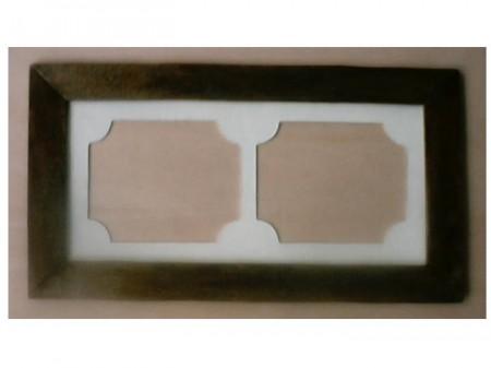 Bricolage: creare una cornice in legno doppia