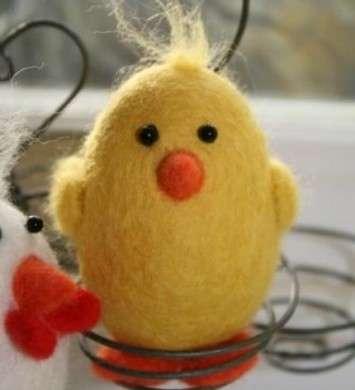 Creare animaletti con la lana infeltrita