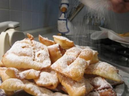 Ricette light di Carnevale, Crostoli Trentini al forno