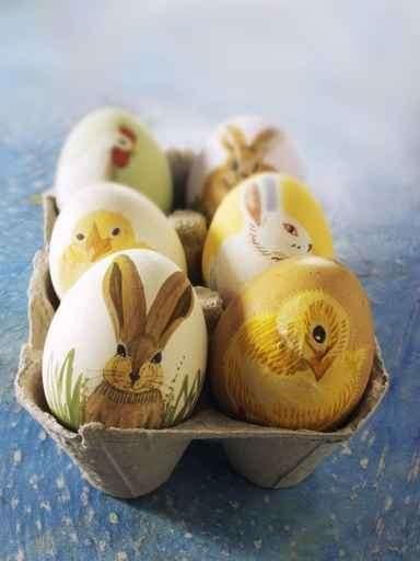 Lavoretti di Pasqua: decorare le uova in decoupage [FOTO]