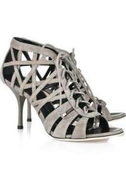 Scarpe Giuseppe Zanotti: Caged Suede Sandals