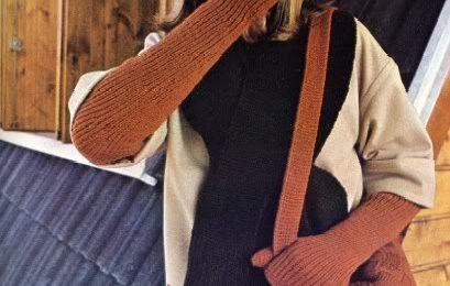 Lavori a maglia: creare bellissimi guanti lunghi