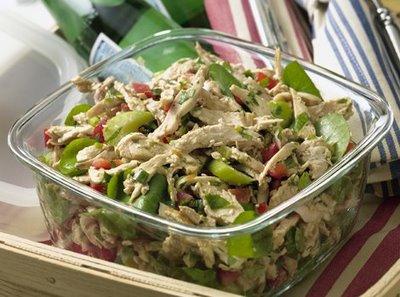 Ricette light: insalata di pollo gustosa