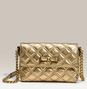 marc jacobs bow quilting shoulder bag