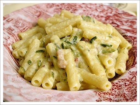 pasta zucchine scalogno
