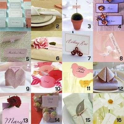 Segnaposto matrimonio tante idee che hanno come tema l 39 amore foto pourfemme - Idee originali per segnaposto matrimonio ...