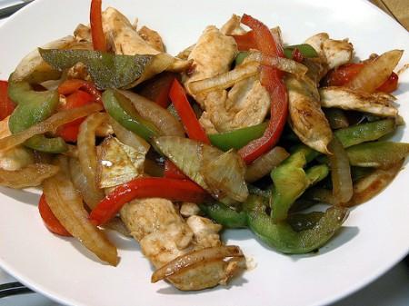 Ricette light: tacchino ai peperoni