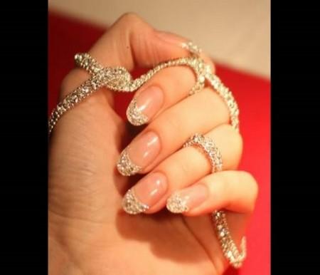 unghie diamanti