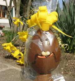 Idea creativa: creare il nostro uovo di Pasqua al cioccolato