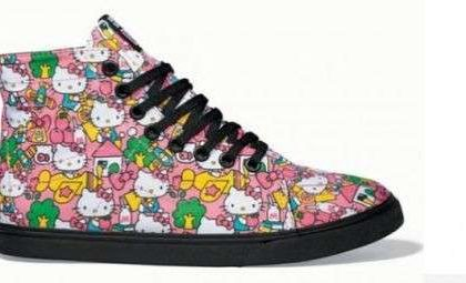 Vans fa le scarpe a Hello Kitty