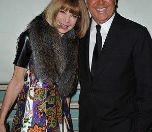 Anna Wintour in Balenciaga alla cena per i 30 anni di Michael Kors