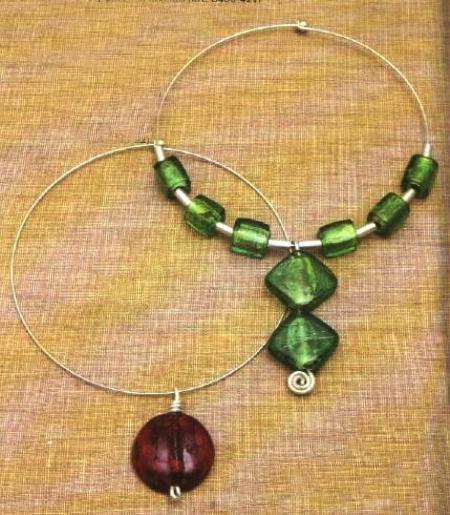 Gioielli fai da te: crea delle bellissime collane a cerchio