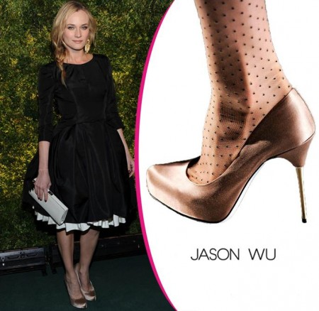 Celebrity Style: Diane Kruger sceglie pumps Jason Wu