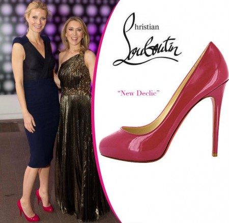 Christian Louboutin: Gwyneth Paltrow sceglie le New Declic pumps