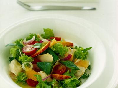 Ricette light: insalata di frutta e verdura