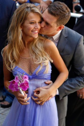 Michael Buble e Luisana Lopilato matrimonio