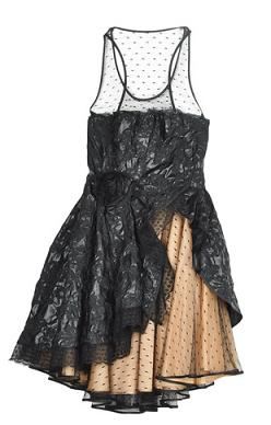 Red Valentino Lace Mesh Dress