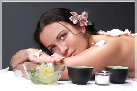 Ritenzione idrica cellulite massaggio te verde