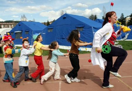 Salute bambini: sindrome postraumatica da stress dopo terremoto Abruzzo
