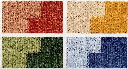 Lavori a maglia: realizziamo delle simpatiche tovagliette all'americana