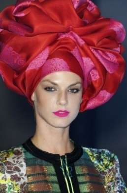 accessori capelli turbante maxi