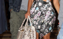 Beyonce sceglie il pitonato di Jimmy Choo e Louboutin