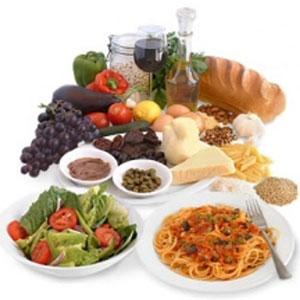 dieta mediterranea disposizione cibo