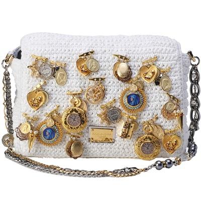 Borse Dolce & Gabbana: Miss Charles con applicazioni