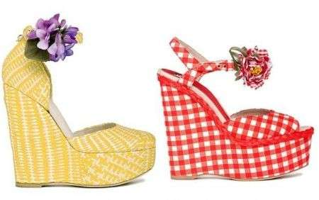 Dolce&Gabbana: i sandali dall'animo ironico e romantico