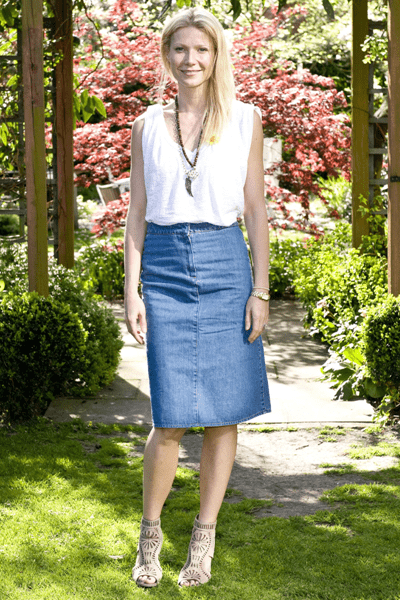 Scarpe Sergio Rossi: Gwyneth Paltrow con sandali cut out