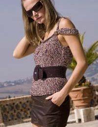 Lavori a maglia: realizziamo la bellissima canotta Ibiza