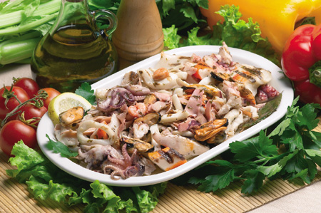 Ricette light: insalata di pesce classica