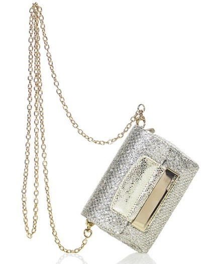 Borse Jimmy Choo, la Glitter Chain Bag