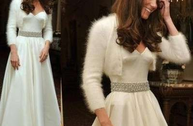 Royal Wedding: Kate in Alexander McQueen anche per il party serale