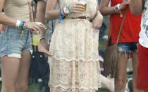 Katy Perry con un abito in pizzo D&G