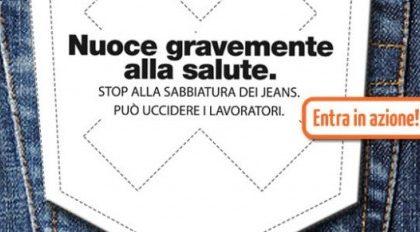 La Redoute: la sabbiatura dei jeans è pericolosa