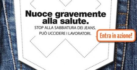 la redoute sabbiatura jeans