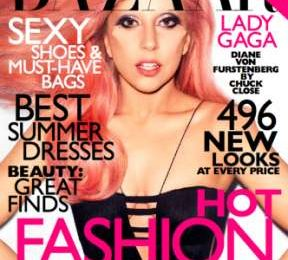 Lady Gaga regina di Harper's Bazaar di maggio