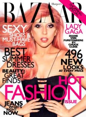 Lady Gaga per Harpers Bazaar
