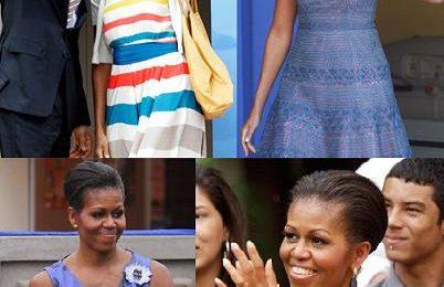 Michelle Obama adora i bijoux Alexis Bittar