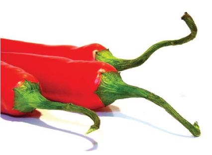 Calorie, bruciarle con il peperoncino rosso